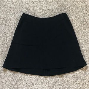 DKNY Black Wool Skirt